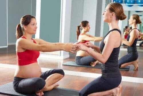 De bedste træningsøvelser til gravide
