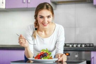 Sund og let aftensmad til at fremme vægttab