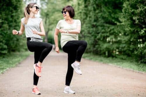Øvelser til at lindre slimsækbetændelse i hoften