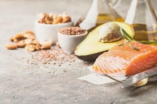 Fødevarer rige på omega-3