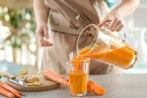 De forskellige fordele ved carotener