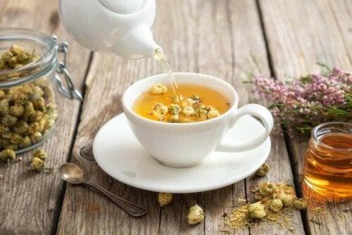 Kamillete er eksempel på medicinske planter