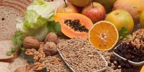 Fødevarer med fibre til at forebygge gigt i hænderne