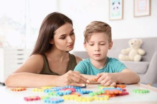 Børn med autisme: 4 vigtige øvelser