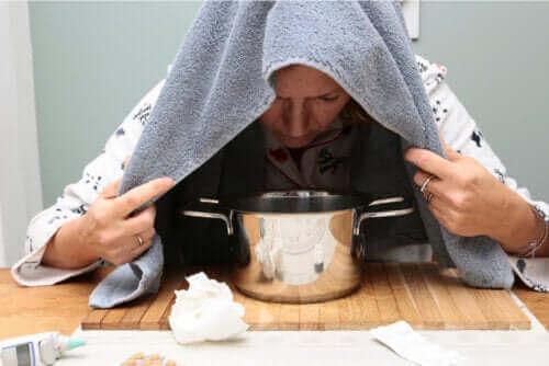 Æterisk oreganoolie til at lindre forkølelse