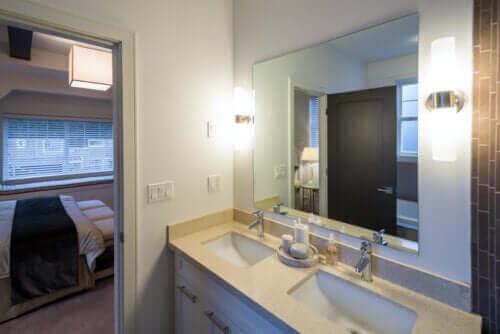 Idéer til at renovere området omkring håndvasken