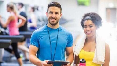 Atlet og sportspsykolog