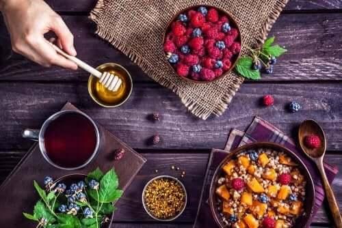 Biotinrige fødevarer til morgenmad