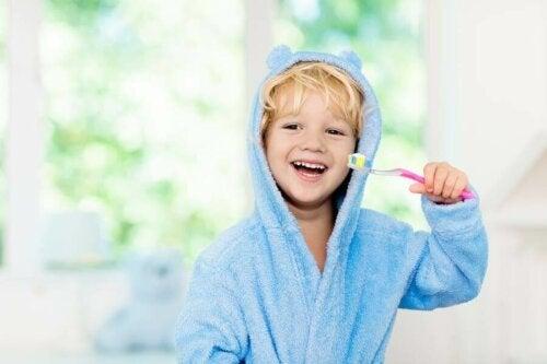 Forstærkning af mundhygiejne hos børn