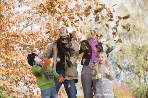 Ideelle udendørs aktiviteter til efteråret