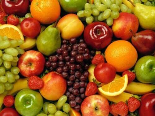 Frugter er gode, når man skal vælge kulhydrater