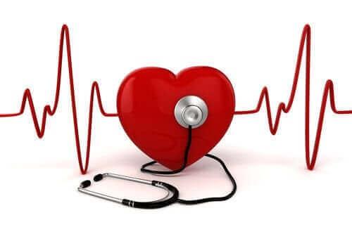 Tegning af hjerterytme