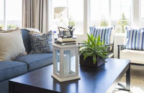 Lanterne i stue