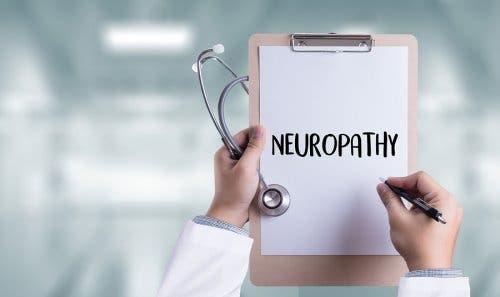 Neuropati skrevet på læges tavle