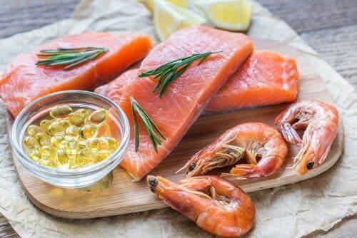 Fødevarer med omega-3 fedtsyrer