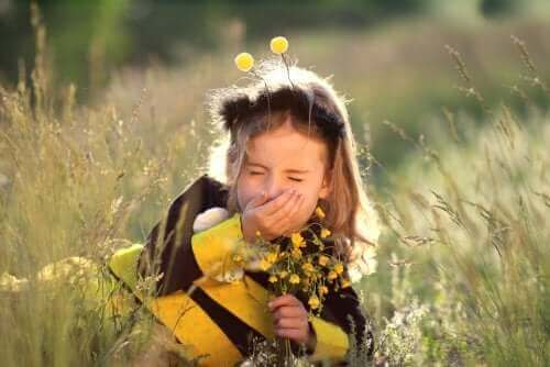 De 9 mest gængse allergier hos børn