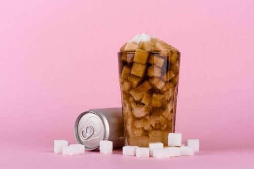 Sukker i glas