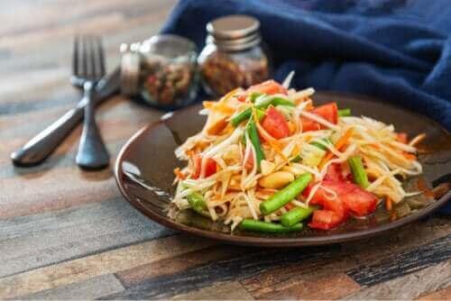 Papayasalat: En hurtig og lækker opskrift