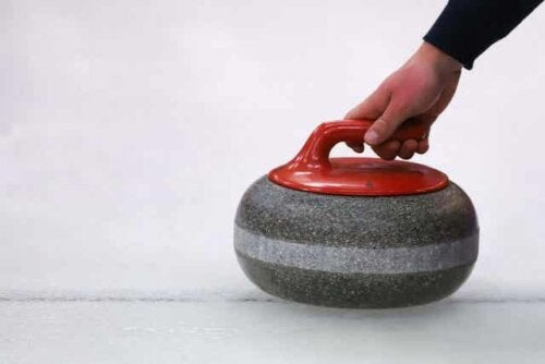 En curlingsten