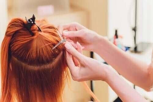 Er det farligt at bruge hair extensions?
