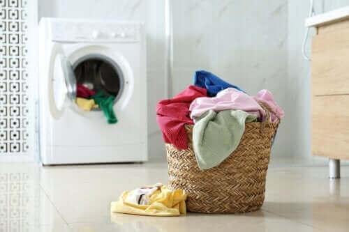 Tilføj sort peber til vaskemaskinen