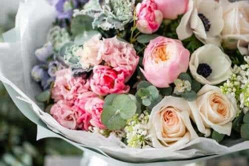 Tips til opbevaring af blomsterbuketter
