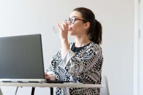 Retningslinjer for kosten, hvis du har et stillesiddende job