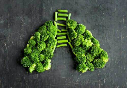 Fødevarer mod lungebetændelse