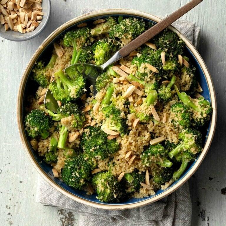 Salat med broccoli og couscous: En let, sund opskrift
