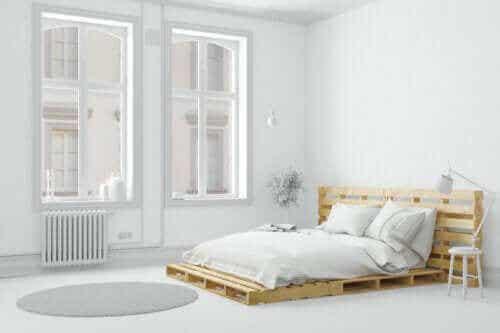 Seks måder at gøre soveværelset mere enkelt på