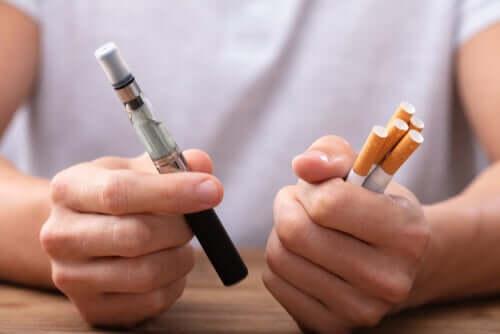 Er vaping et bedre alternativ end at holde op med at ryge for godt?