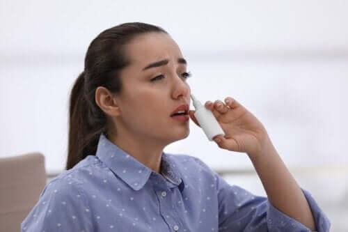 Afhængighed af næsespray: Kan det ske?