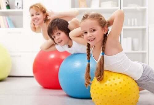 Fysisk træning for børn: Alt, hvad du behøver at vide