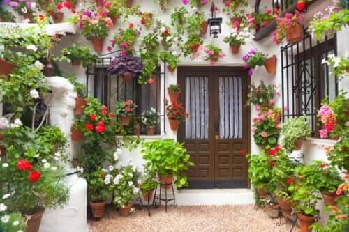Sådan indrettes en gårdhave i andalusisk stil