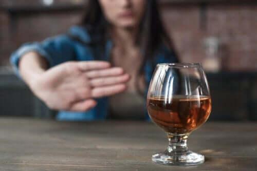 Sådan overvinder du ædru alkoholiker syndrom