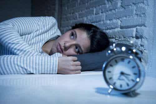 Karakteristika for søvncyklussen