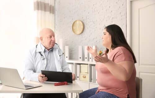 En undersøgelse fandt en sammenhæng mellem fedme og depression