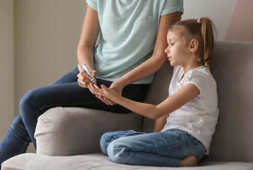 Diabetes hos børn og unge